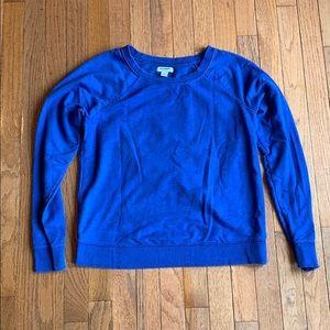 Women's medium blue Old Navy sweatshirt